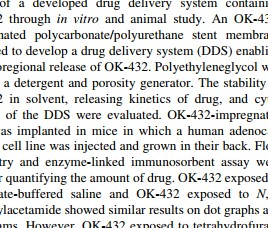Case_Local Delivery System of Immune Modulating Drug